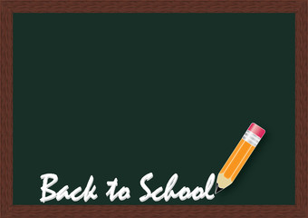 A vector illustration of back to school background.