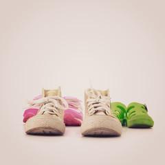 Kid shoes - instagram filter