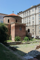 The ancient church St. George in Sofia, Bulgaria
