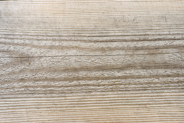wooden plank with splinters and cracks