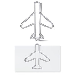 Paper clip. Vector illustration