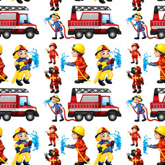 Seamless firefighters