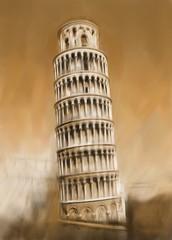 Pisa Schiefe Turm von Pisa Italien Antike