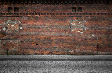 Old grunge urban background Fotobehang