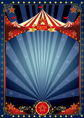 Fun night circus poster
