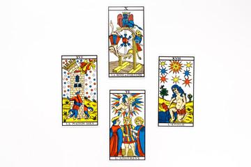 Tarot card good draw