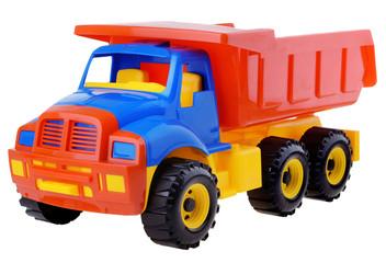 plastic toy truck
