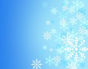 クリスマス雪の結晶