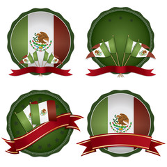 mexican badges