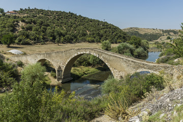 Cataltepe Bridge, Usak, Anatolia, aegean Turkey.