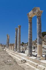 Knidos ancient city in Datca Peninsula, Turkey