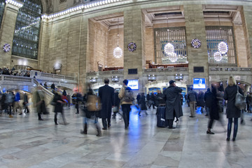 Deurstickers Treinstation New York Grand Central