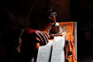 Monk in Lamayuru