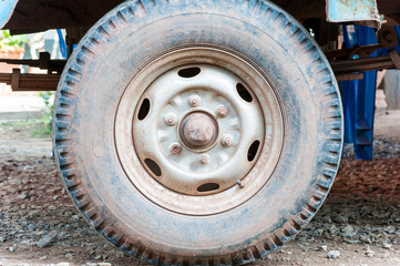 Dirty old tires