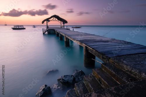 Pigeon Point at Sunset, Tobago  № 1471878 бесплатно