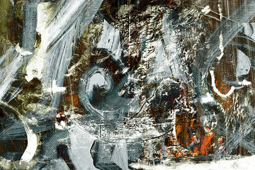 Abstract on Canvas - 69737342
