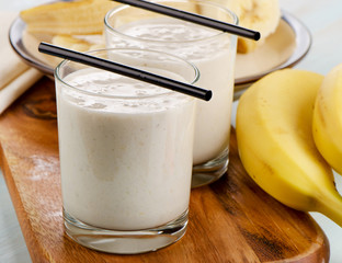 Sweet banana smoothie