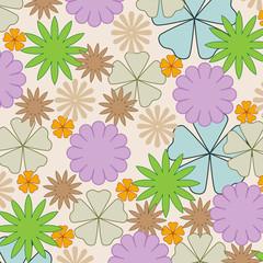 floral pattern  elegance background