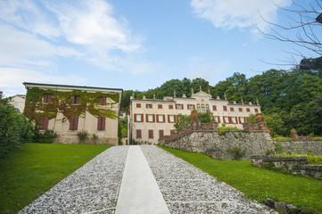 Venetian villa in Asolo, typical village near Treviso