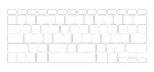 keyboard Computer Wall mural