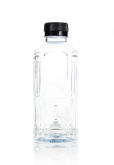 Plastic water bottle isolate