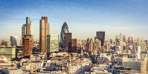 Autocollant pour porte London City of London
