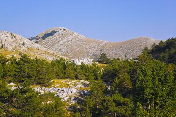 Mountains view at Biokovo, Croatia