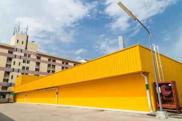 Yellow Warehouse Buliding