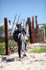 подводная охота на Кубе