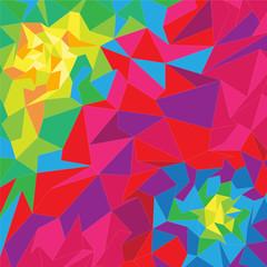Vector geometric shape, background