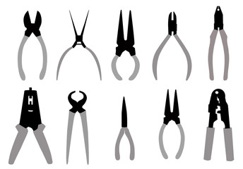 Pliers Tools-vector