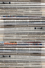 Zeitung Textur Hochformat