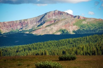 Wall Mural - Colorful Colorado Summits