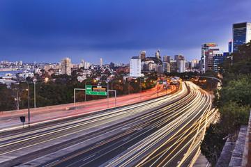 Sydneyu Cahill Long Side Sunset