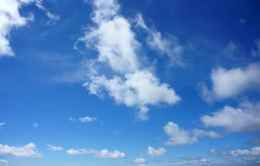 Beauty cloudscape, cloudy, blue sky