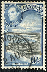 image of Colombo Harbour and King George VI
