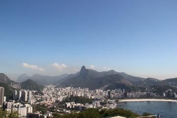 Blick vom Zuckerhut auf Corcovado