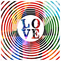 Hypnotic love design