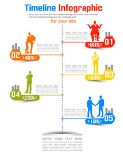 TIMELINE INFOGRAPHIC NEW STYLE 5