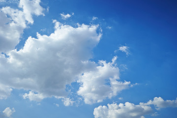 blue sky Fotobehang