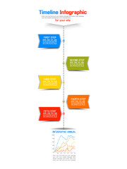 TIMELINE INFOGRAPHIC NEW STYLE 8
