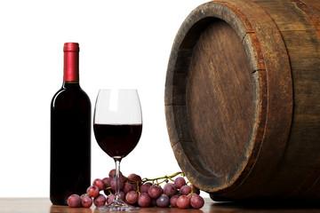 Wine with barrel