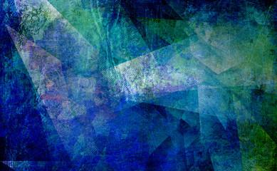 malerei polygonal abstrakt alt