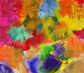 farben texturen leinwand