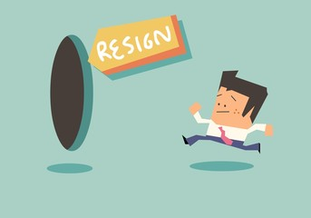 Resign is a good option