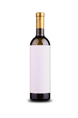 Blank wine label