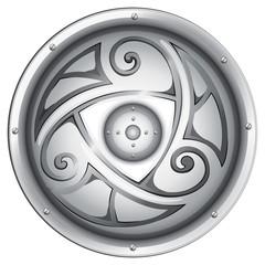 A viking's shield