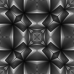 Design seamless decorative trellised pattern
