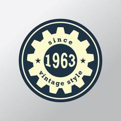 Vintage Retro Label. Vector design.