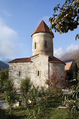 old Albanian church in Azerbaijan